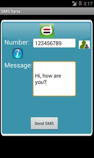 Free SMS Syria
