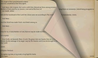 Screenshot of CATHOLIC PRAYER BOOK