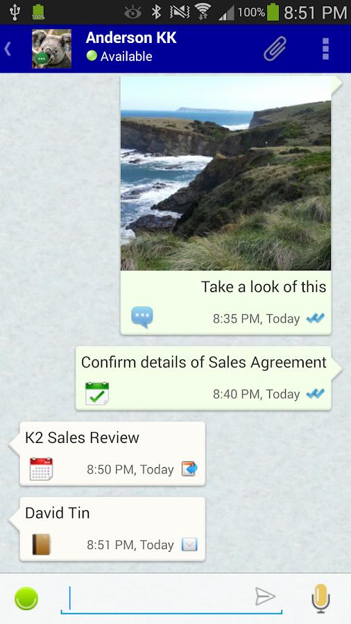 VCOrganizer Pro - screenshot