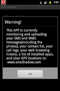 SMS Shadow - screenshot thumbnail