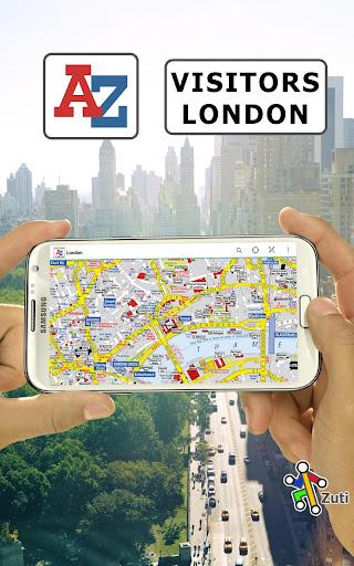 London Visitors A-Z Map