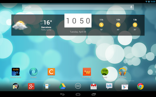 Screenshot for Beautiful Widgets Pro in United States Play Store