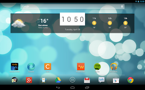 Beautiful Widgets Pro Screenshot