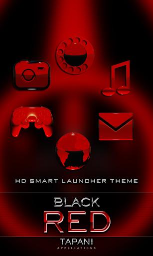 Smart Launcher GSLTHEME d.紅