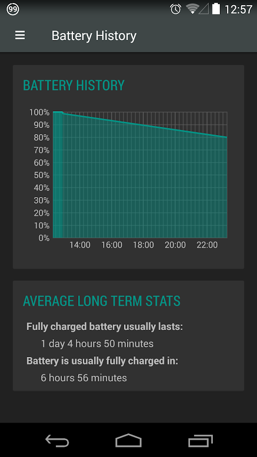 Battery Widget Reborn- screenshot