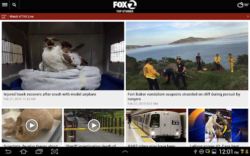 KTVU News- screenshot thumbnail