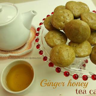 Ginger Honey Tea Cakes.