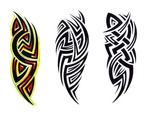 80 Tribal Tattoo Design
