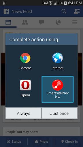 No Browser