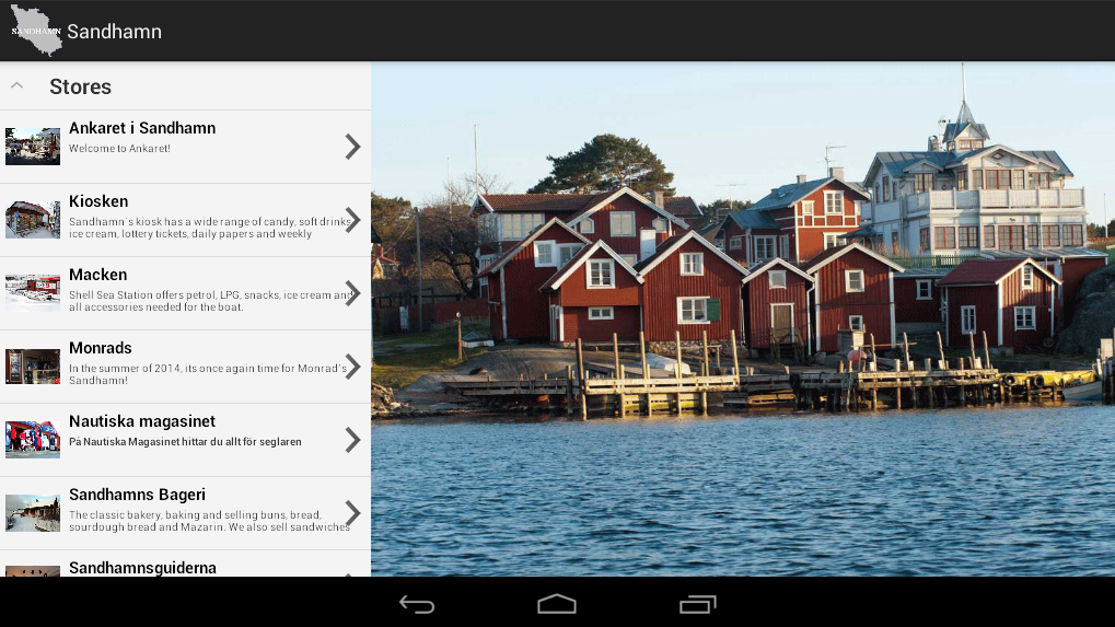 Sandhamn- screenshot