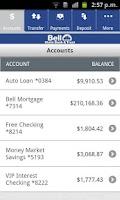Screenshot of Bell Banks