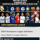 Soccer League Match Fixtures