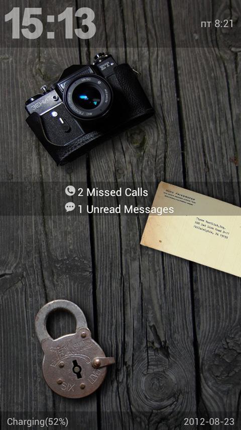 Vintage GO Locker theme- screenshot