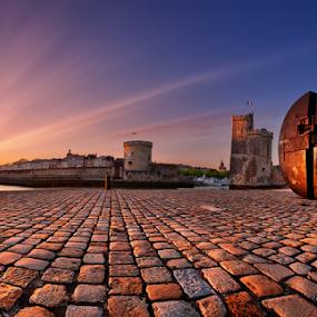 LR Sunset Zen by Sebastien Gaborit - Buildings & Architecture Public & Historical