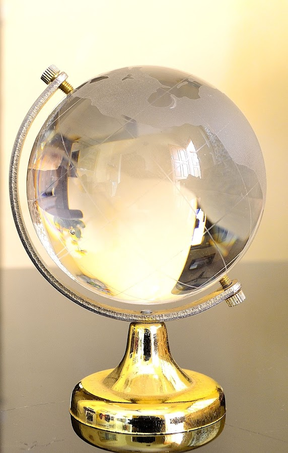 Golden Globe transparent for reivew  by Cijo Ceazer - Abstract Patterns ( golden globe transparent for reivew )