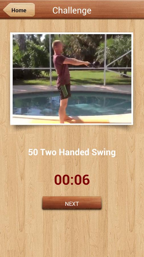 300 Kettlebell Challenge - screenshot