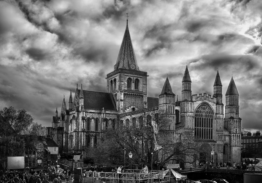 Rochester Cathedral by Tracy Hughes - Buildings & Architecture Places of Worship (  )