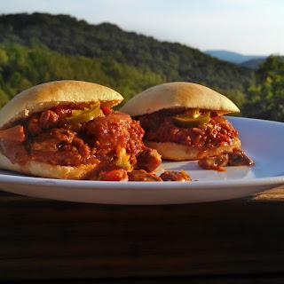 Meatless Monday ~ Spicy Sloppy Mushroom Sliders