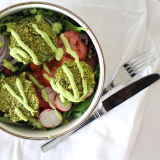 Crispy Green Goddess Falafel