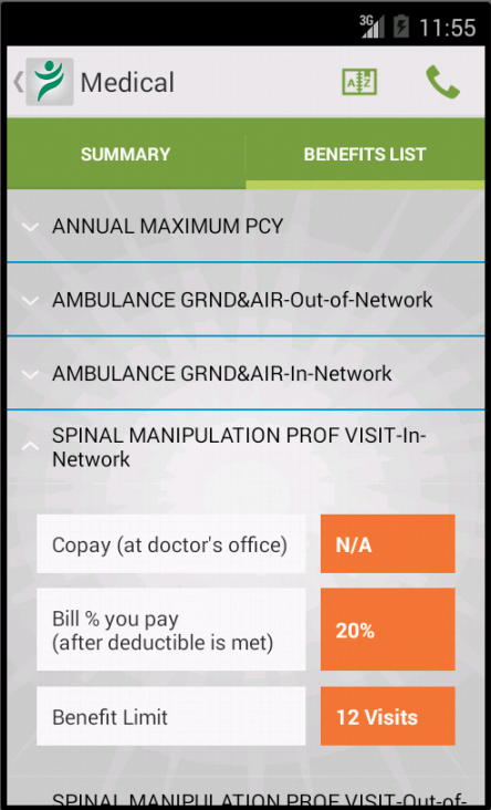 LifeWise Mobile - screenshot