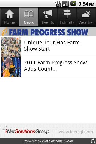 Farm Progress Show - screenshot