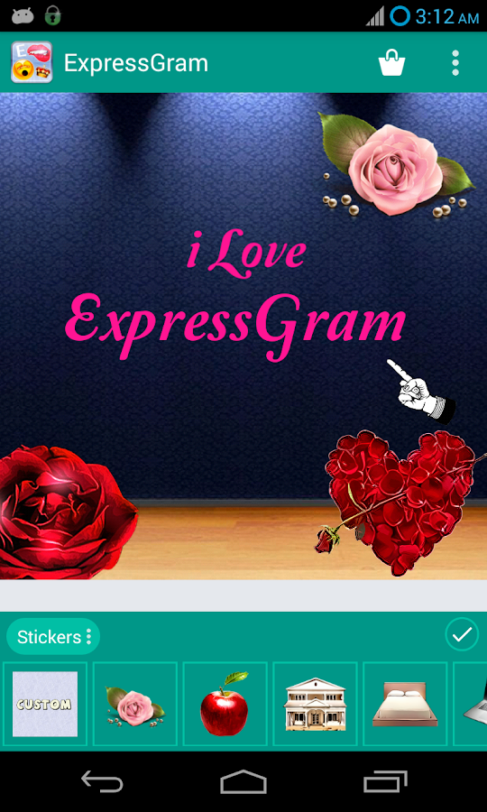 ExpressGram - screenshot