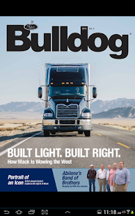 Bulldog – Mack Trucks Magazine - screenshot thumbnail