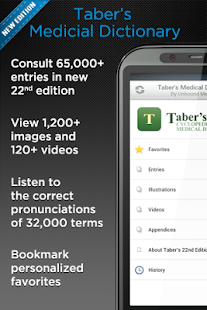 Taber's Medical Dictionary - screenshot thumbnail
