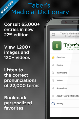 Taber's Medical Dictionary - screenshot