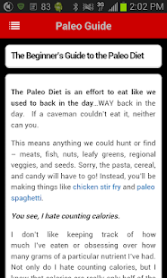Paleo Central - screenshot thumbnail