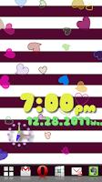 Screenshot of [Free]Heart Flow! Custom Clock