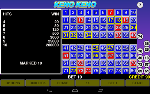 Can you play keno at home