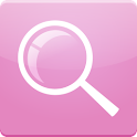 Pink Search for Google™ logo