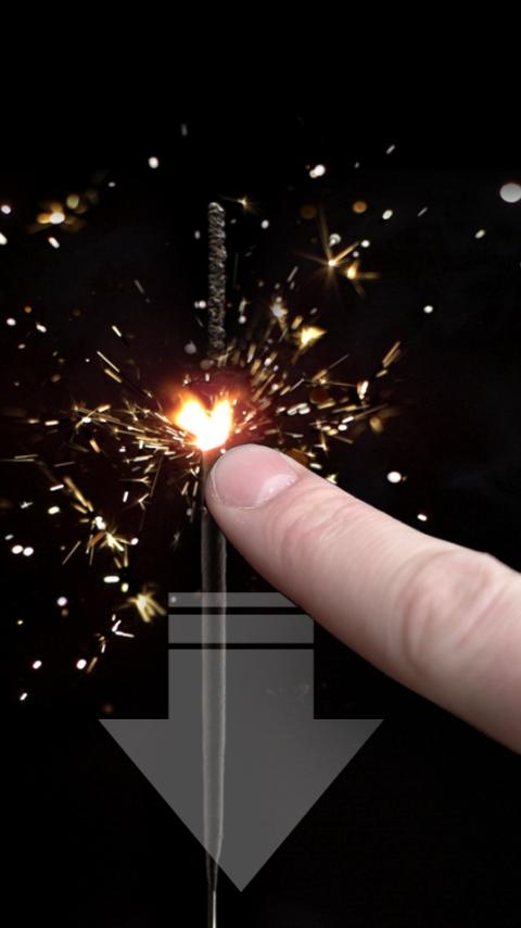 Slow Motion Sparkler- screenshot
