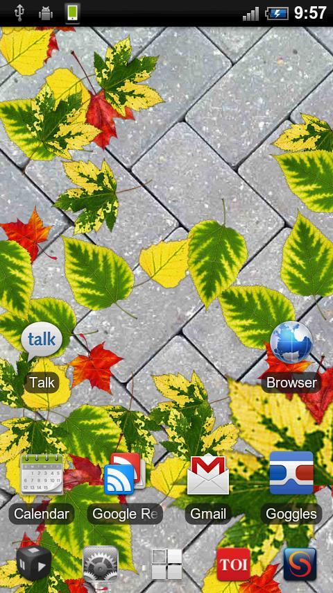 Autumn Leaves Free LWP- screenshot