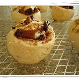 Cinnamon Rolls with Raisins.