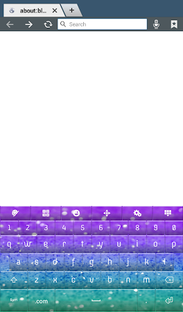 Glitter Keyboard Theme 2.0 screenshot 2012850
