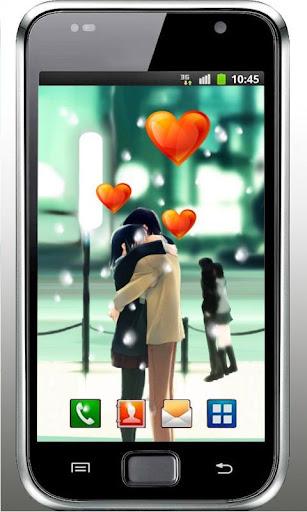 Love Snow Anime LWP
