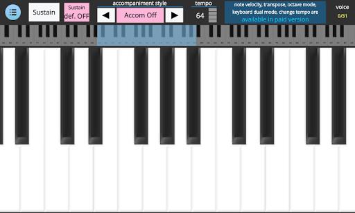 Accompanist Piano - Lite 1.0.1 screenshots 4