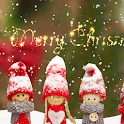 Christmas Dolls Live Wallpaper icon