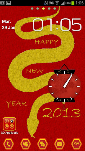 Go Launcher chinese Year Light