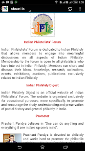 Indian Philately Digest- screenshot thumbnail