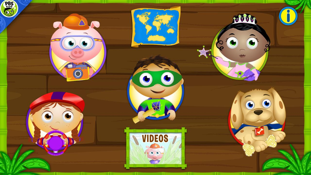 SUPER WHY ABC Adventures - screenshot