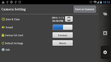 Screenshot of DJI FC40