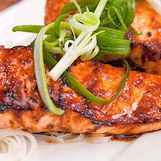 Glazed Salmon Fillets Recipe