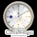9月の誕生石の時計ウィジェット icon