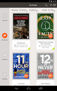 eBooks by Sainsbury's - screenshot thumbnail