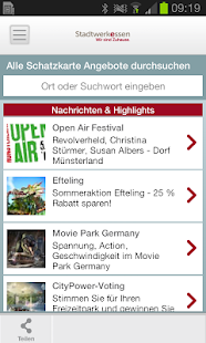 Schatzkarte-App - náhled