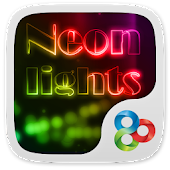 Neon Lights GO Launcher Theme