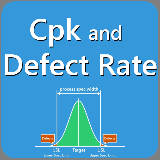 生产应用のCpk and Defect Rate LOGO-記事Game